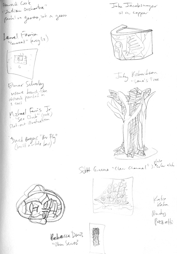 Anderson museum sketches 3