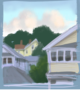 twilight in Watertown (unframed)