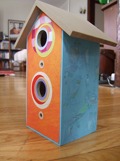 Collaborative birdhouse