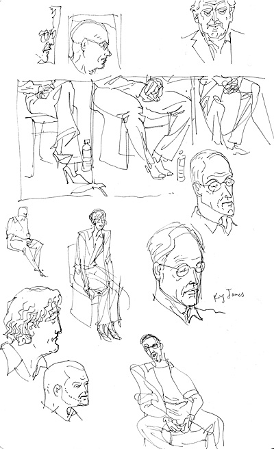 Mortal Terror sketches, page 2