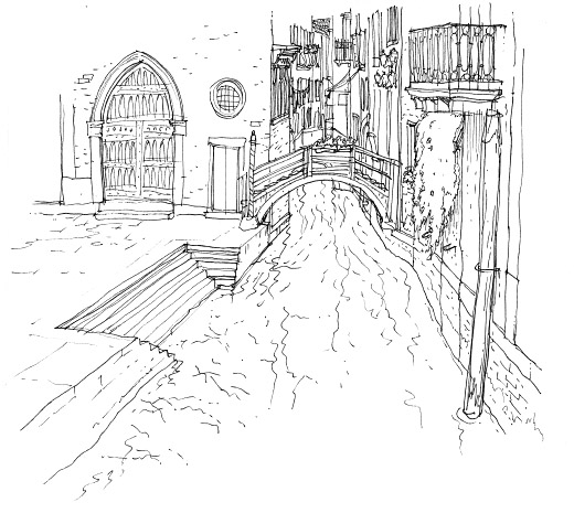 Line Drawing Venice : Pin venice italy drawings and paintings by stephen